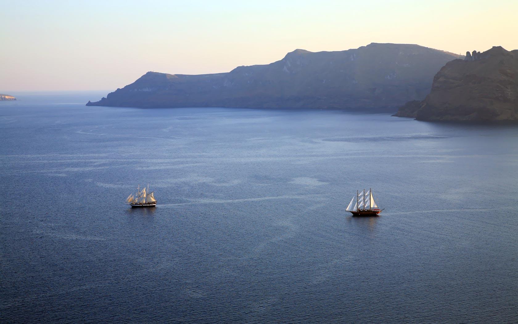 Santorini Map Oia Santorini Hotel Delfini Villas